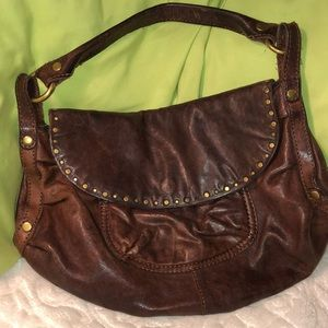 Lucky Brand stressed Leather good condition